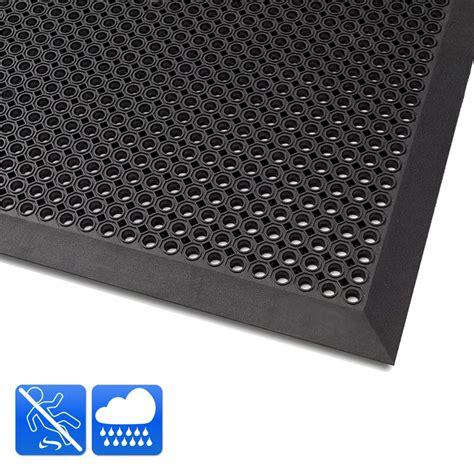 tapis antid 233 rapant exterieur caillebotis caoutchouc noir