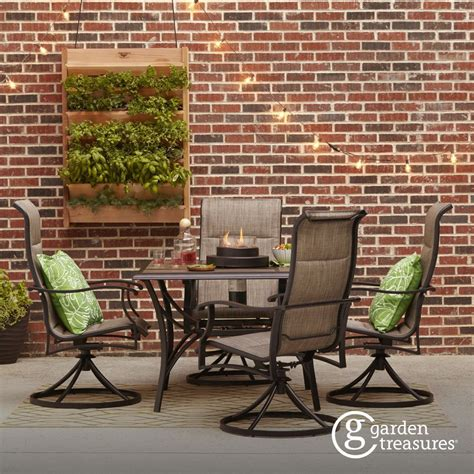 Shop Patio Furniture by Shop The Skytop Patio Collection On Lowes Backyard