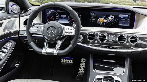 2018 Mercedes-AMG S63 4MATIC+ - Interior | HD Wallpaper #26