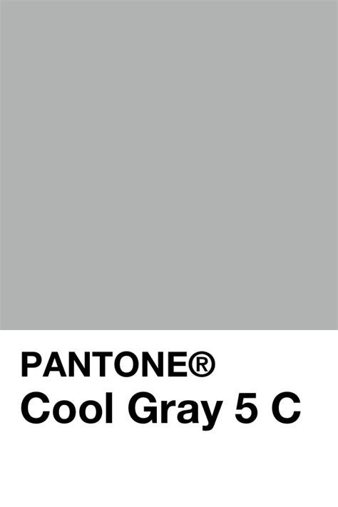 Pantone Farben Grau by Pantone Cool Gray 5 C Pantone In 2019 Pantone Color