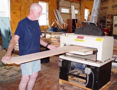 extreme homebuilding    woodmaster drum sander