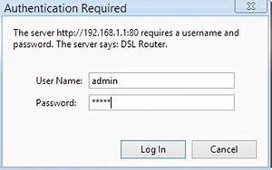 Ptcl ip address username and password