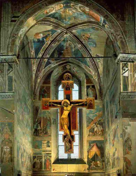 gli affreschi  le storie della croce piero della