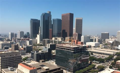 A Visit To The (free) Observation Deck At La City Hall