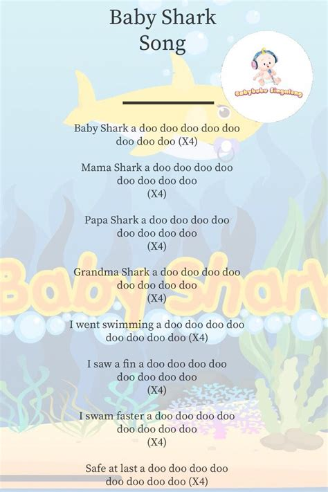 pin by babybubu inc on songs to sing to baby baby shark 111 | a62adf9af03b90891075c282a72d0ad5