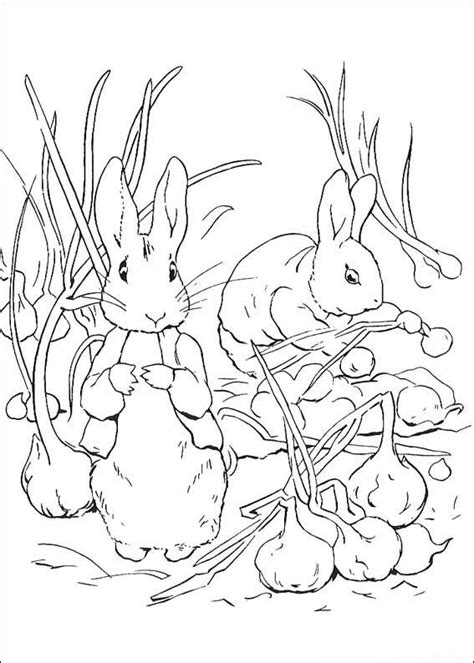 kids  funcom  coloring pages  peter rabbit