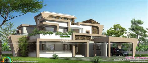 custom modern home plans unique modern home design in kerala kerala home design