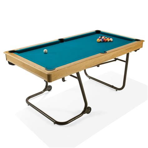 space for pool table the space saving billiards table hammacher schlemmer