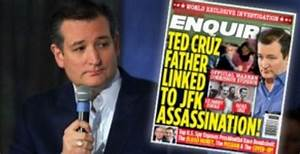 'Where was Ted Cruz's dad when Vince Foster was shot?'