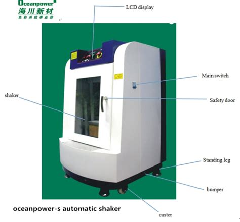 paint shaker paint colour mixing machine with automatic