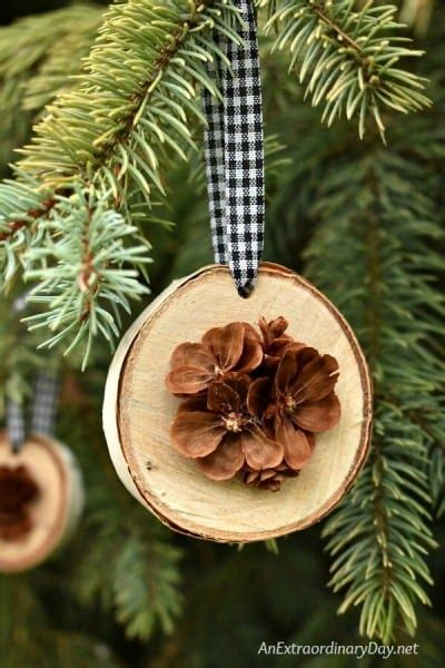 remodelaholic  natural holiday decor ideas