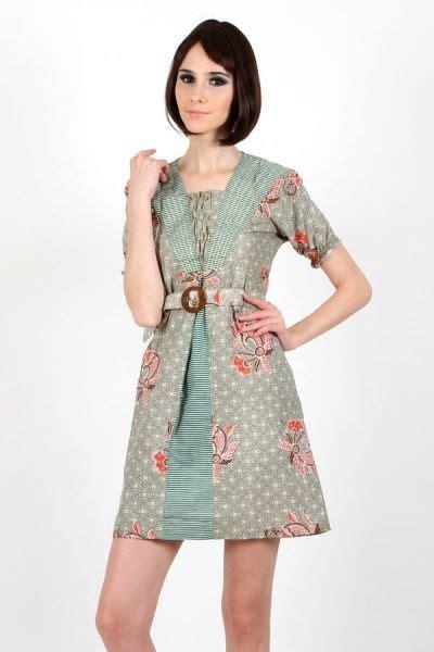 dress batik wanita  kain katun lebih nyaman