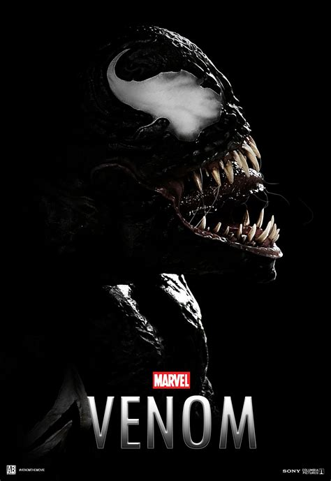 ''venom 2018'' Fan Movie Poster  Venom Pinterest