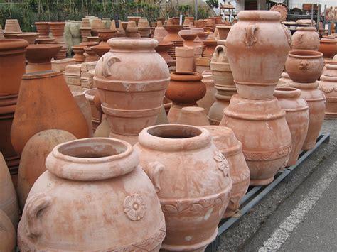 vasi giardino terracotta gardenflora trio terrecotte vasi da giardino e