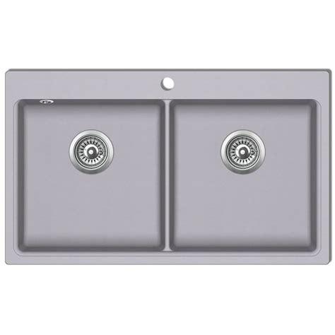 lavello doppio cucina articoli per lavandino cucina granito grigio lavello
