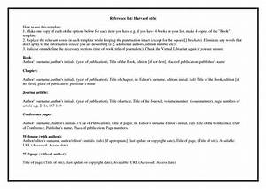 harvard style referencing template - harvard referencing style guide to academic writing
