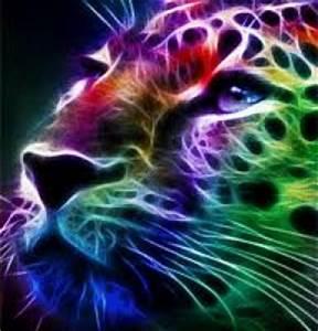 Neon Leopard Gabrela DeviantArt
