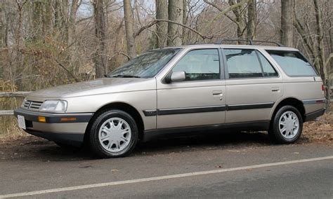 peugeot usa rare in the usa 1990 peugeot 405 s wagon bring a trailer