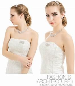 Luoteemi 2015 Hot New Women Luxury White Gold Plated Aaa ...