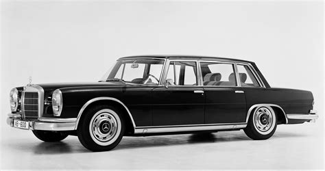 Produced from 1964 to until 1981. Mercedes Benz 600_Pullman_Limousine_1964.jpg 1,600×845 pixels