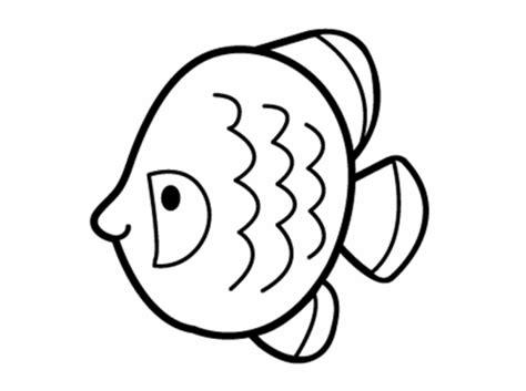 kostenlose malvorlage sommer runder fisch zum ausmalen