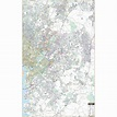Prince George's County, Maryland Wall Map - The Map Shop