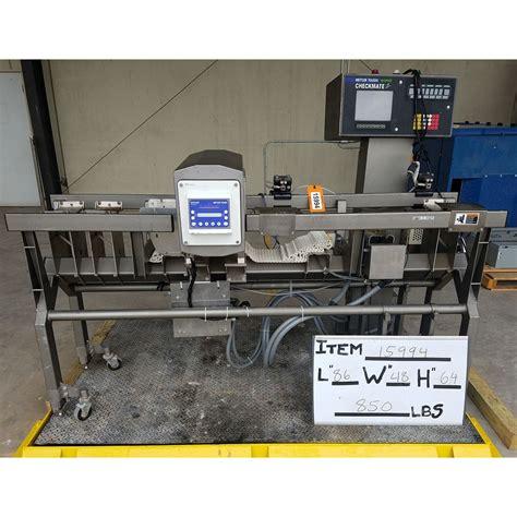 safeline metal detector  mettler toledo  speed