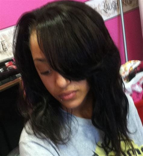Sew In Hairstyles For Teenagers by Sew In 2 Weave Lounge