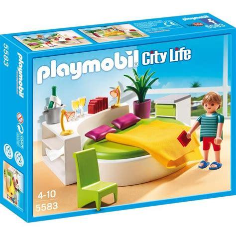 chambre des parents playmobil playmobil 5583 chambre avec lit rond achat vente