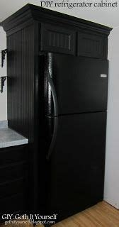 giy goth it yourself kitchen makeover diy trash bin giy goth it yourself kitchen makeover diy refrigerator