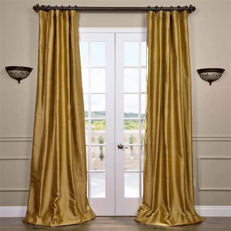half priced drapes golden silk curtains half price drapes