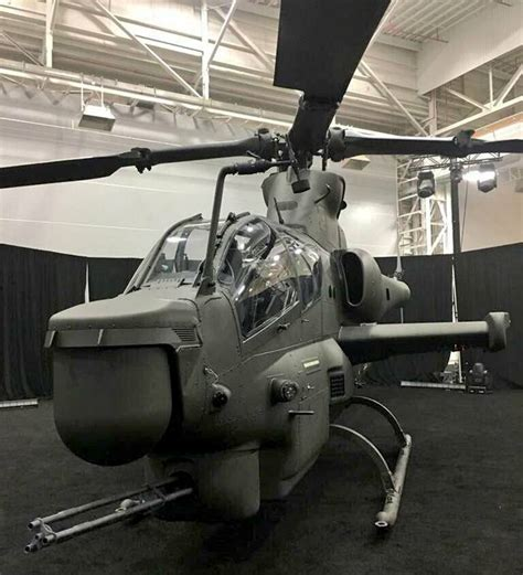 The First Combat Helicopter Ah-1z For Pakistan