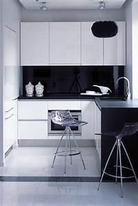 design idea of classic black and white kitchen midcityeast With design idea of classic black and white kitchen
