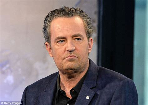 Matthew Perry looks run down as he promotes The Odd Couple ...