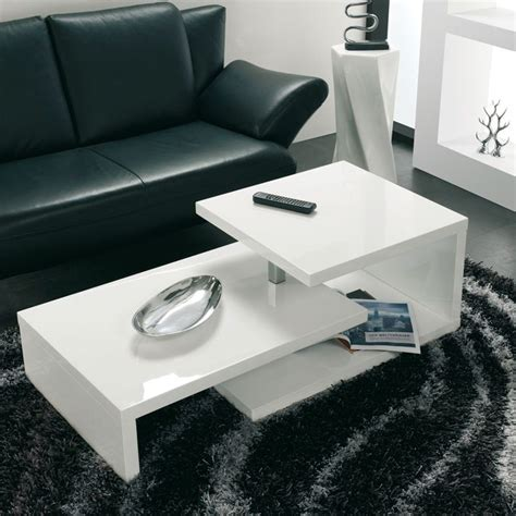 table basse blanc laque cdiscount 25 best ideas about table basse modulable on table modulable meuble modulable and