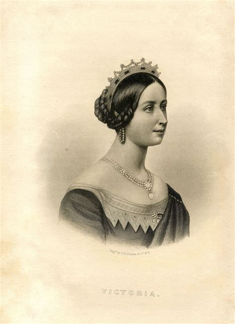 Victorian Clip Art   Young Queen Victoria   The Graphics Fairy