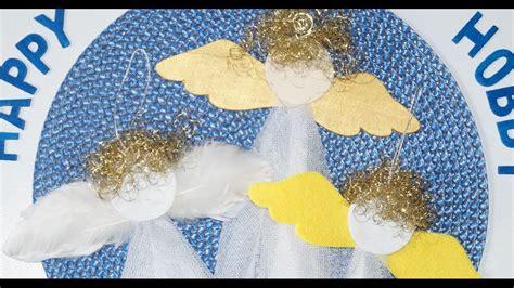 engel aus papier basteln engel basteln aus gardine mit papier filz federn holz winter diy