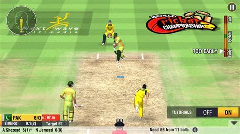 world chionship cricket 2 v1 2 apk version mod