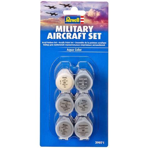revell aircraft acrylic paint set 6 pack new ebay