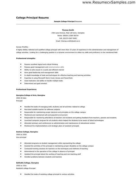 sample resume for college sample resume college professor position resume ixiplay