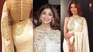 Shilpa Shetty Hot In Golden Saree At UMANG 2017 - Mumbai ...