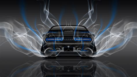 Animated wallpaper for android colorado rockies elite dangerous 1080p scenic wallpapers for desktop cracked phone screen twiztid wallpapers hd 1360 x 768 desktop foggy blue and red boba fett. 4K Dodge Challenger Muscle Back Smoke Car 2014 | el Tony