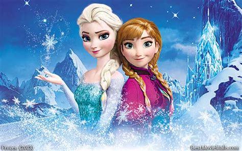 Anna And Elsa Frozen Wallpaper