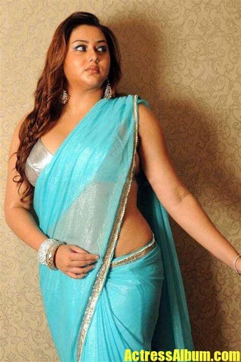 Actress Namitha In Saree Latest Photos - Actress Album