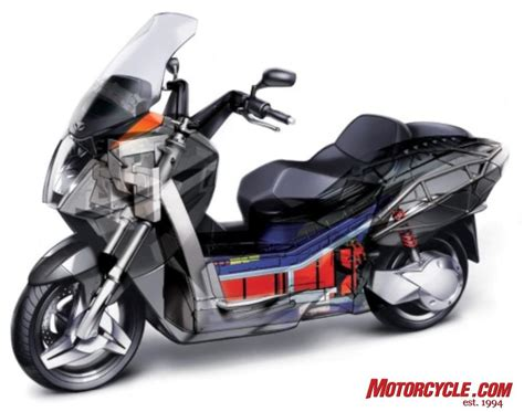 2008 Vectrix Electric Scooter