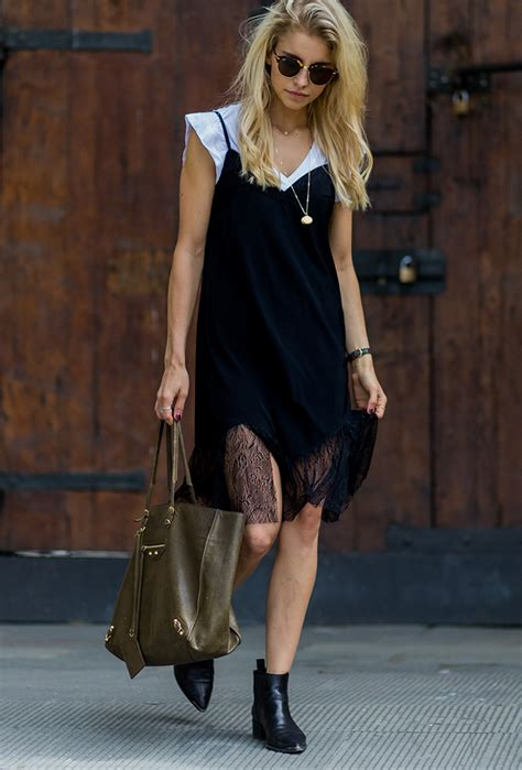 How to Layer T-Shirts Under Dresses for Summer | StyleCaster