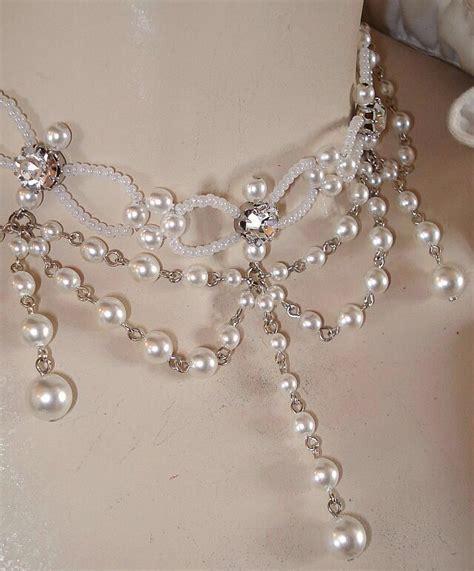 DirndlKette Collier Kropfkette Trachtenkette Perlenkette