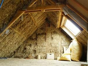 Toit En Paille : un toit isol en paille ~ Premium-room.com Idées de Décoration