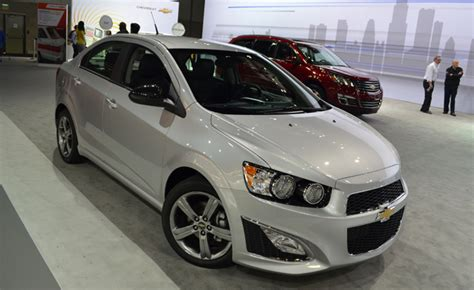 chevrolet sonic rs puts excitement   budget