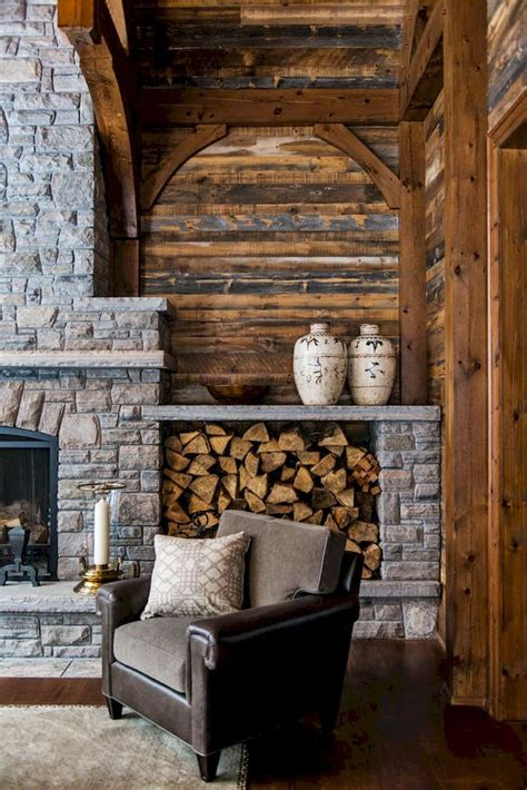 rustic fireplaces ideas  pinterest rustic